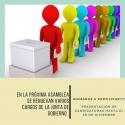 Convocatoria de Elecciones Junta de Gobierno